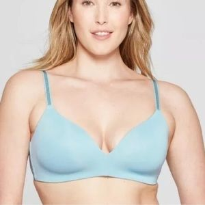 Auden the Bliss Blue Bra Convertible WireFree NWOT